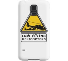 Low Flying Helicopters (2) Samsung Galaxy Case/Skin
