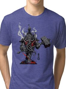 The Game of Kings, Wave One: The Black King's Rook Tri-blend T-Shirt