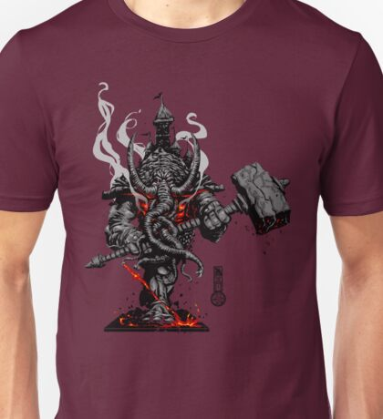The Game of Kings, Wave One: The Black King's Rook Unisex T-Shirt