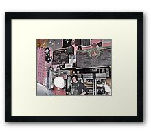 """What's your Voo Doo?"", Asked The Goth Dude - Portland, Oregon Framed Print"