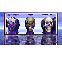 Mortality Morphing Photographic Print
