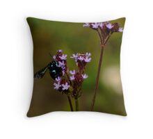 Cloak and Dagger Cuckoo Bee Throw Pillow