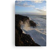 The Tumultuous Sea Canvas Print