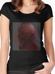 Everevolving - Abstract CG Women's Fitted Scoop T-Shirt