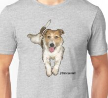 Lou Lou Series 3 from Jack Russell Rescue Unisex T-Shirt