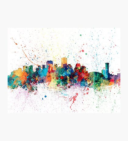 New Orleans Louisiana Skyline Photographic Print