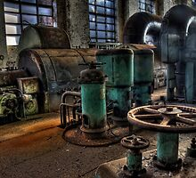 White Bay Power Station by Dianne English