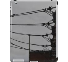 Telephone Wires Photography iPad Case/Skin