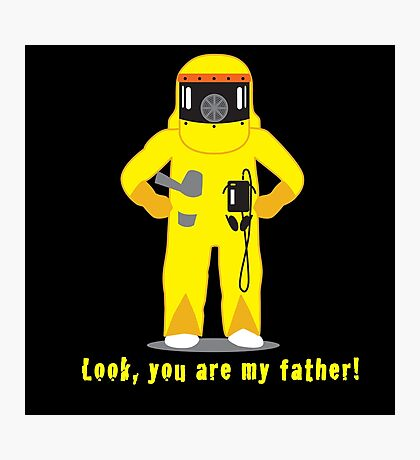 Look, you are my father! Photographic Print