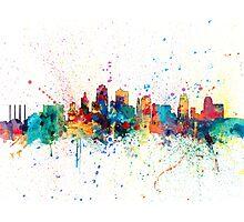 Kansas City Skyline Photographic Print
