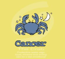 Cancer the Crab T Kids Clothes