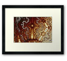 Geometric Patterns No. 43 Framed Print