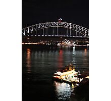 Icons at night Photographic Print