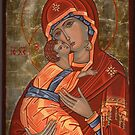 Mother of God Glykophilousa by vimasi