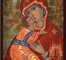 Mother of God Glykophilousa by vimasi