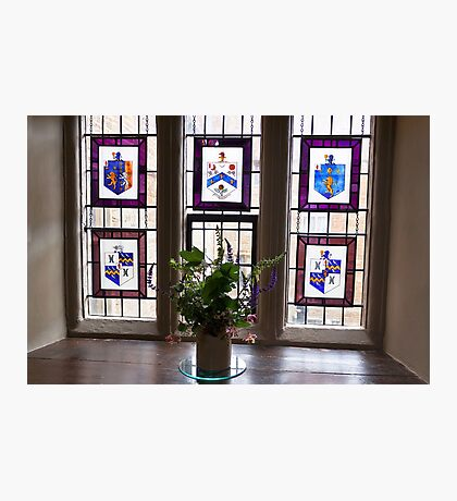 Canons Ashby House Staircase Tower Window Photographic Print