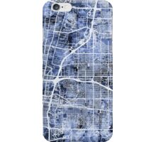 Albuquerque New Mexico City Street Map iPhone Case/Skin