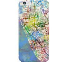 Liverpool England Street Map iPhone Case/Skin