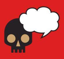 Speaking skull One Piece - Short Sleeve