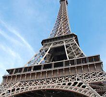 The Eiffel Tower, Paris by David Fowler