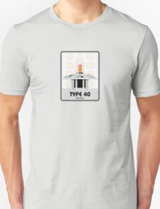 Type 40 (old skool) Unisex T-Shirt