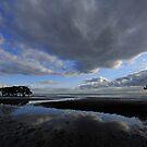 Nudgee Beach at sunrise. Brisbane, Queensland, Australia. (2) by Ralph de Zilva