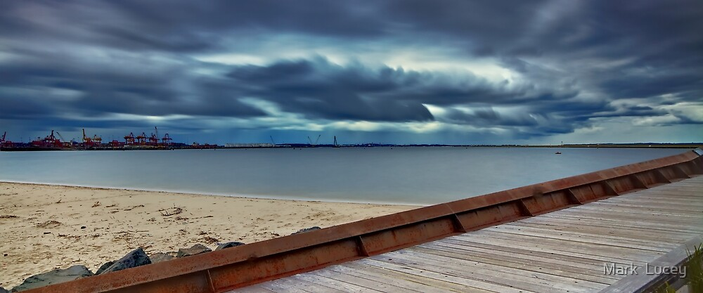 Path to the Storm - Botany Bay NSW by Mark  Lucey