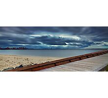Path to the Storm - Botany Bay NSW Photographic Print