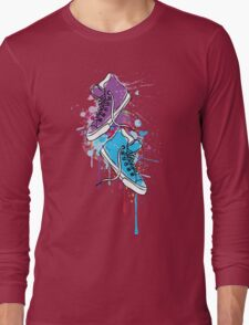 Colorful sneakers Long Sleeve T-Shirt