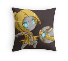 Cute Orianna - League of Legends Throw Pillow