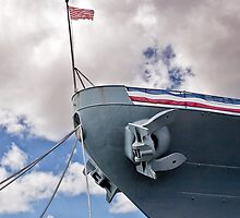 Anchor - USS Missouri (BB-63) by Alex Preiss