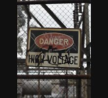 Danger High Voltage Sign  Unisex T-Shirt