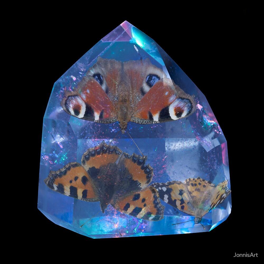 Butterflies Caught by JonnisArt