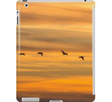 Wildfowl Sunset Flight iPad Case/Skin