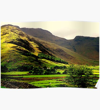 """LANGDALE VALLEY"" Poster"