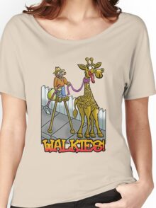 """Giraffe walkies"" Women's Relaxed Fit T-Shirt"