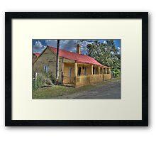 Settler's Cottage, Sofala, NSW, Australia  Framed Print