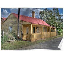 Settler's Cottage, Sofala, NSW, Australia  Poster