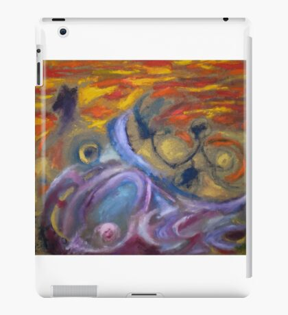 Chasing light iPad Case/Skin