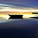 Sunset at Bush Bay - Carnarvon WA by Alwyn Simple