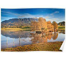 Mt Roland, Sheffield, Tasmania, Australia Poster