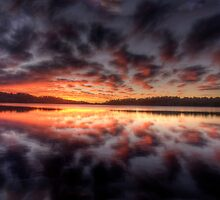 Light Show - Narrabeen Lakes,Sydney - The HDR Experience by Philip Johnson