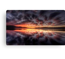 Light Show - Narrabeen Lakes,Sydney - The HDR Experience Canvas Print