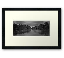 Painted Lake Framed Print