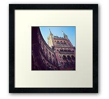St. Pancras Grand Hotel Framed Print