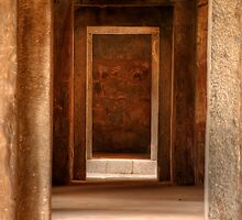 Haus Khas Tombs by Clive S