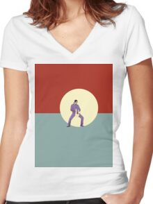 The Big Lebowski The Jesus Women's Fitted V-Neck T-Shirt