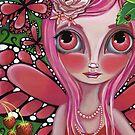 """Strawberry Butterfly Fairy"" by Jaz Higgins"