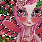&quot;Strawberry Butterfly Fairy&quot; by Jaz Higgins