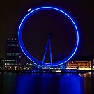 London Eye Reflections by Paul Revans